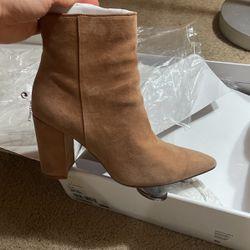 Aldo Brown Camel Suede Boots for Sale in Hesperia,  CA