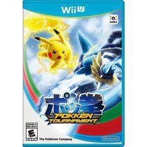 Nintendo Wii U Pokemon Pokken Tournament Video Game, actual game in case. for Sale in Cedar Park, TX