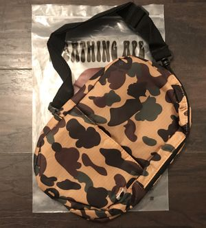 A Bathing Ape BAPE 1st Camo Shoulder bag for Sale in Indian Trail, NC