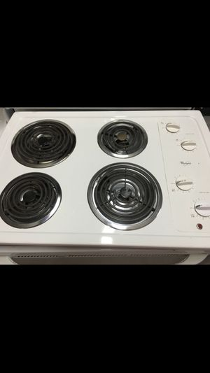 Whirlpool coil top stove! One year warranty! for Sale in Orlando, FL