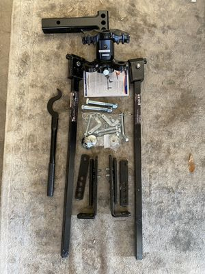 Fastway E2 8k Weight distribution hitch for Sale in Peoria, AZ