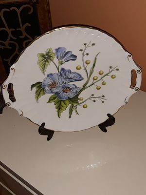"""SPODE"" Stafford Flowers Cookie platter NEW for Sale in Boynton Beach, FL"