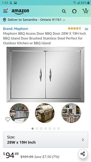 Barbecue access door 19 w x 28 for Sale in Ontario, CA