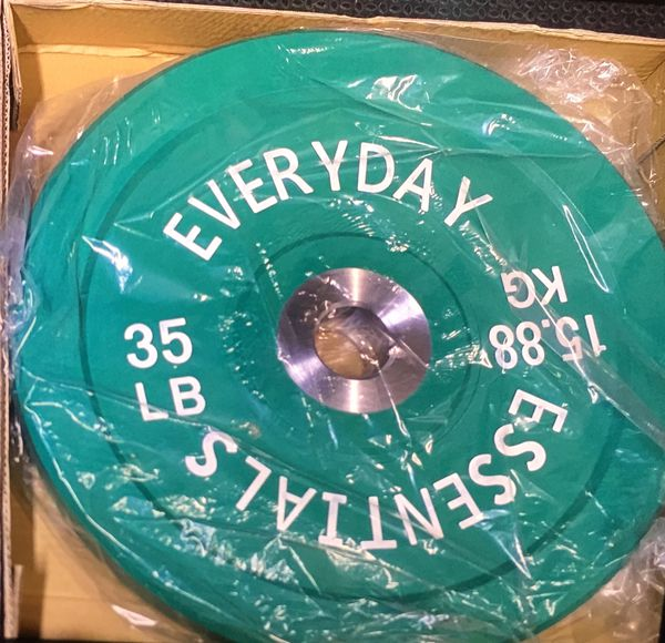 EVERYDAY ESSENTIALS BUMPER PLATE