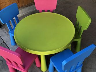 IKEA Mammut Kids Table And Chairs for Sale in Los Angeles,  CA