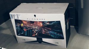 ALIENWARE 34 inch curved monitor for Sale in Ithaca, NY