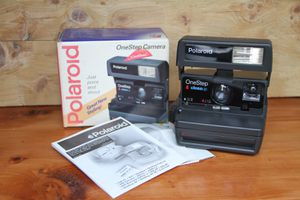 Polaroid one step close up/ 600 film/ Mint tested condition for Sale in Whittier, CA