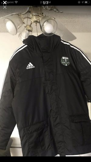 Adidas/Timber's jacket brand new size large in men's for Sale in Portland, OR