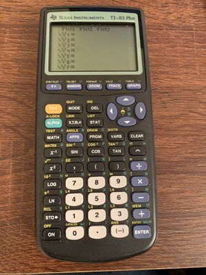 TI 83 Plus Graphing Calculator for Sale in Lakeland, FL