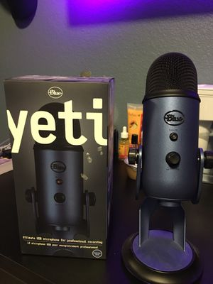 Blue Yeti Microphone for Sale in Watsonville, CA
