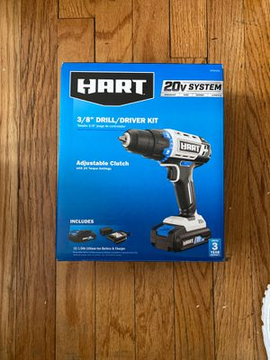 """Hart 3/8"""" drill/driver kit for Sale in Chicago, IL"""