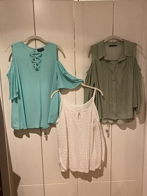 3 Ladies Bare Shoulder Tops! for Sale in Miami Shores, FL