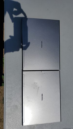Lot of 2 Toshiba Tecra M6-EZ6611 sold AS-IS untested for Sale in Saint Michael, MN
