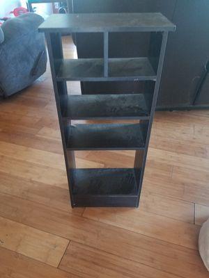 Small black shelf for Sale in Jacksonville, NC