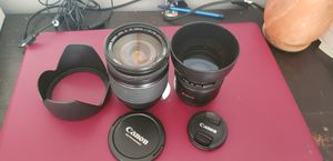 Canon EF lenses for Sale in Los Angeles, CA
