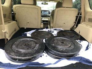 400lbs of standard weight great price for Sale in Tampa, FL