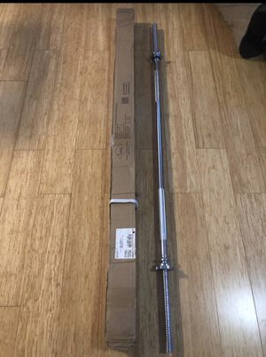 """Barbell 5 Foot long ,1"""" inch New ( Bar weights 15 pounds) for Sale in Biscayne Park, FL"""
