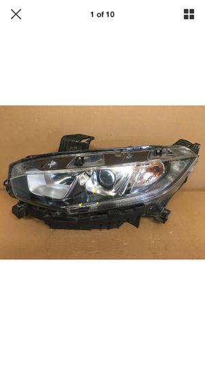2016 2017 2018 2019 HONDA CIVIC HALOGEN W/LED HEADLIGHT OEM1 DRIVER SIDE for Sale in Los Angeles, CA