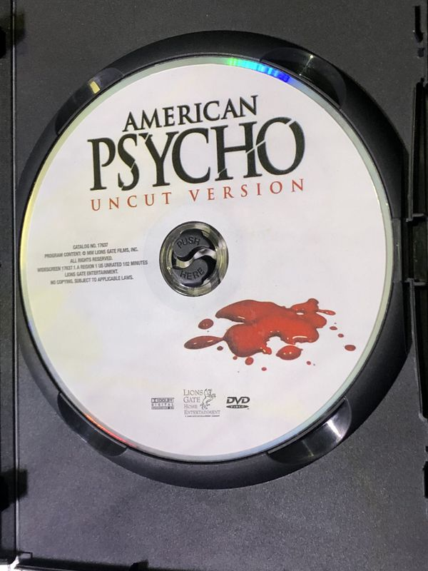 American Psycho DVD / Uncut, Unrated