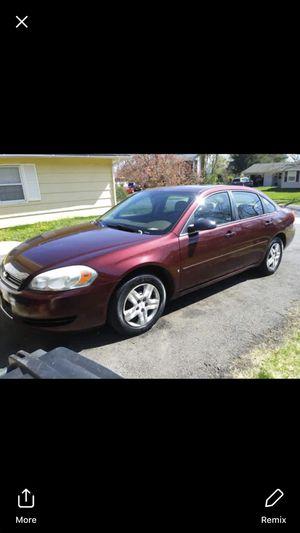 07 Chevy impala for Sale in Willingboro, NJ