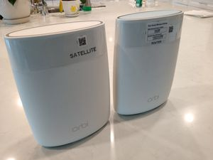 ORBI rbr50 & rbs50 wifi router + setellite for Sale in San Diego, CA