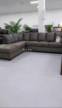 🔥Best Price Brand🆕️ Darcy RAF Sectional By Ashley for Sale in Bailey's Crossroads,  VA