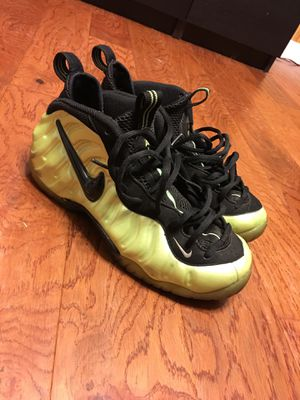 Electric green pro foamposite for Sale in Fort Washington, MD