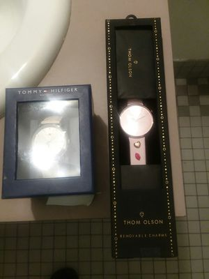 2 Watches Tommy Hilfiger & Thom Olson Charm Watch for Sale in Boston, MA