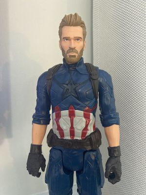 "Avengers Marvel Infinity War Titan Hero Series Captain America 12"" Action Figure for Sale in Fayetteville, NC"