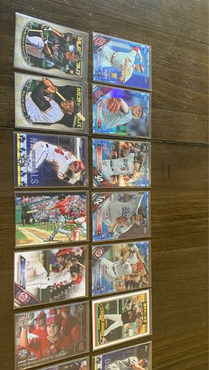 topps Baseball Cards Combination-Includes Trouts,Harpers, and more. for Sale in Eldersburg, MD