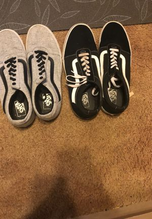 Two Pairs of Vans size 11 for Sale in Douglasville, GA
