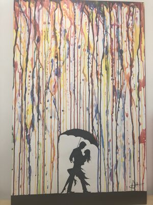 Romantic Colorful Painting for Sale in New York, NY