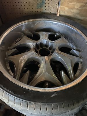 Chevy 5 lug 24' rims for Sale in Cedar Hill, TX