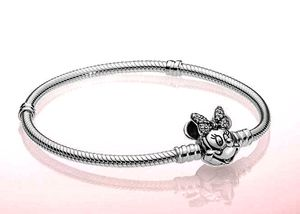 Silver plated Minnie Mouse Charm Bracelet for Sale in Chicago, IL