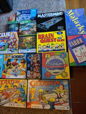 Kids/Family games for Sale in Turlock, CA