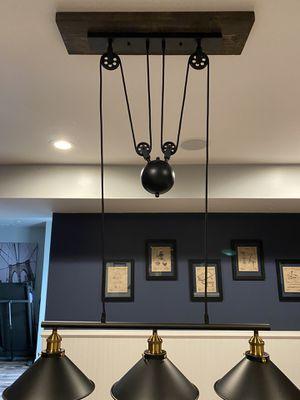 Industrial 3 lamp light billiard kitchen for Sale in Vint Hill Farms, VA
