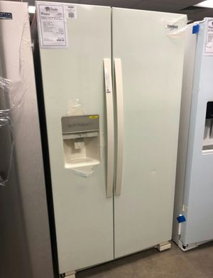 🌞NEW Whirlpool Bisque 24 CuFt Refrigerator..1 Year Manufacturer Warranty Included for Sale in Gilbert, AZ
