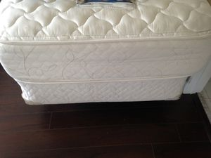 2 Twin beds like new! With mattress box bring and frame! for Sale in Delray Beach, FL