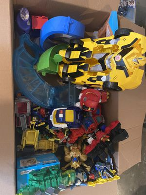 FREE Boys toys! Transformers, paw patrol, 2 PJ masks castles. for Sale in Fircrest, WA