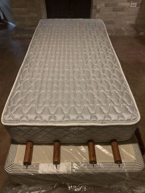 Ashley Furniture Twin Size Bed XL With Box Spring and Legs for Sale in Missouri City, TX