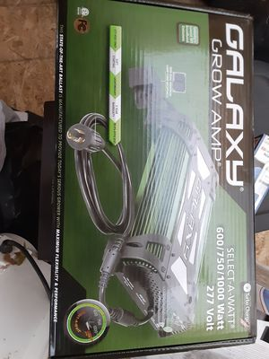 Galaxy grow amp model # 902227 for Sale in Ceres, CA