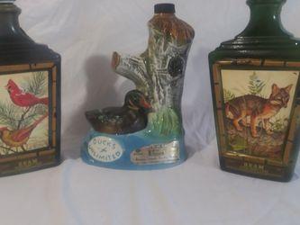 Vintage Jim Beam Whiskey Bottle Set for Sale in Columbus,  OH
