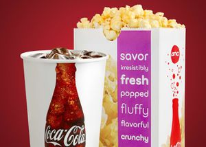AMC 2 Large Drinks and 1 Large popcorn $5 for Sale in Alhambra, CA