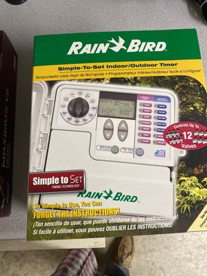 Rain bird SST 1200 sprinkler controller for Sale in Temecula, CA