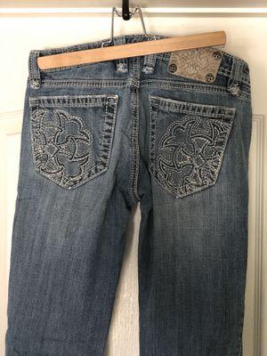 Miss me MEK designer jeans size 27 2/4 ladies clothes for Sale in Murrieta, CA