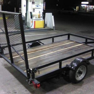 2017 5x8 utility trailer $475 for Sale in Happy Valley, OR