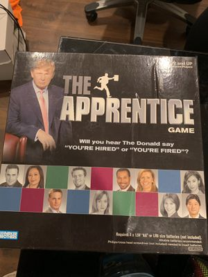 Donald Trump Apprentice board game for Sale in Kirtland, OH