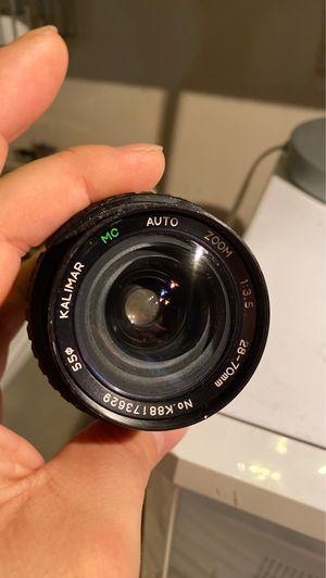 Kalimar 28-70mm lens for Sale in Hayward, CA