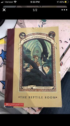 The Reptile Room by Lemony Snicket for Sale in Bend, OR