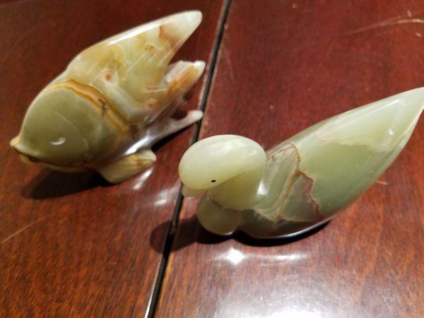 Jade figurines